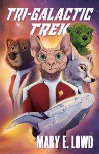 Cover art for Tri-Galactic Trek