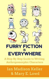 """Cover of the book """"Furry Fiction is Everywhere"""""""